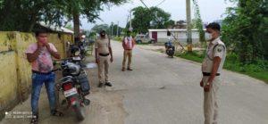 नवगछिया : मास्क और वाहन जांच अभियान में रंगरा पुलिस ने वसूल किया ₹4550 जुर्माना
