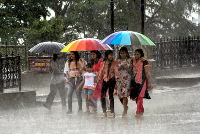 भागलपुर : आज से चार दिनों तक कहीं हल्की तो कहीं झमाझम बारिश