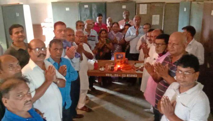 नवगछिया : बनारसी लाल सर्राफ कॉलेज में गुरु पूर्णिमा कार्यक्रम का आयोजन