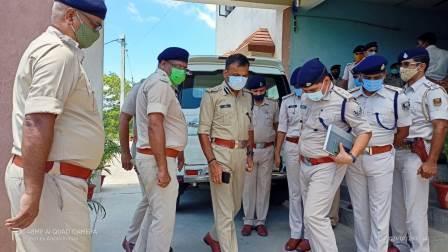 नवगछिया : डीआईजी ने नये पुलिस लाइन का किया निरीक्षण