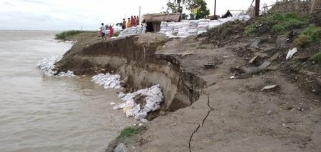 नवगछिया : मैरचा व लोकमानपुर में कटाव जारी