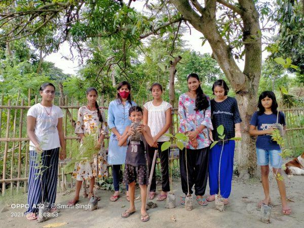 नवगछिया : पर्यावरण संरक्षण के लिए अभाविप का मिशन संजीवनी लगातार जारी
