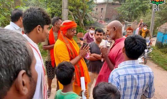 नवगछिया : बिहपुर विधायक ने आपके द्वार विधायक कार्यक्रम में समस्याओं को सुना